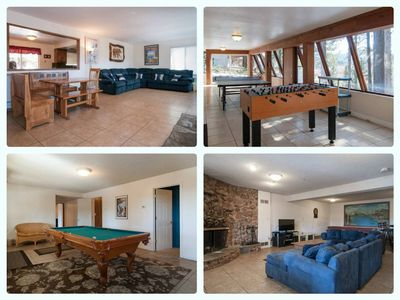 Photo for Cozy Tahoe Cabin, Pool Table, game room, minutes from Heavenly and Casinos