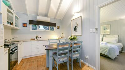 Photo for The Shell Croft - 250m from the bay beach. - Cosy Spa Cottage by the Sea