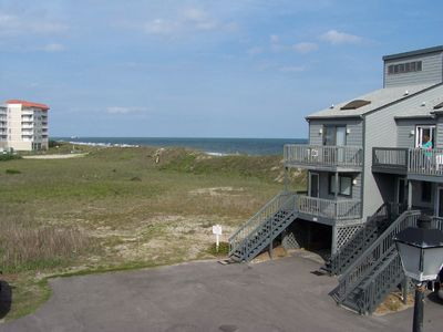 Photo for Two Bedroom Town Home Second Row with Unobstructed Ocean View