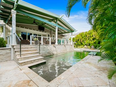 Photo for Stay like royalty in this Luxury Home in a perfect location, 2 blocks to beach!