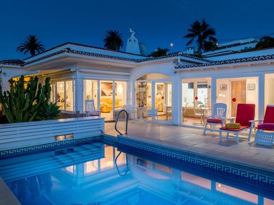 Photo for ❤️ Relaxing villa with heated pool and fantastic views.
