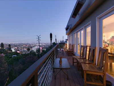 Photo for Right off Sunset! Great views of LA, luxury interior, and perfect balcony