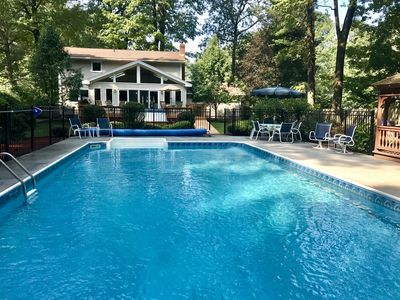 Photo for Spacious Retreat with Heated Pool - 2 Miles to Downtown Saratoga Springs