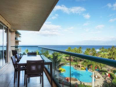 Photo for Ocean Views From Inside - Wrap Around Lanai - Honua Kai Hokulani 509 - 2bd/ba