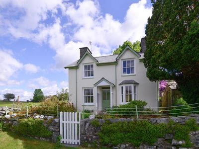 Photo for A pretty cottage with views of Cadair Idris and Snowdonia. With opportunities for mountain biking, b