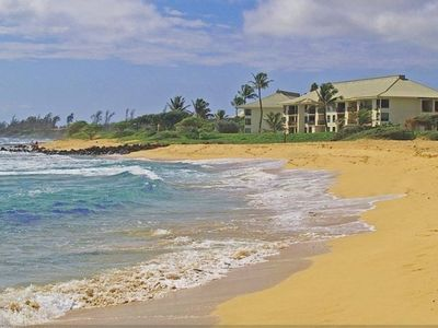 Photo for Beachfront getaway at Kaua'i Beach Villas
