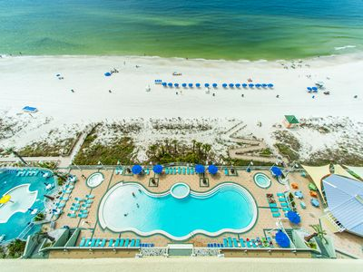 Photo for Gulf FRONT Lagoon Pool☀Wall to Wall Views☀Inspected & Disinfected☀Boardwalk 1406