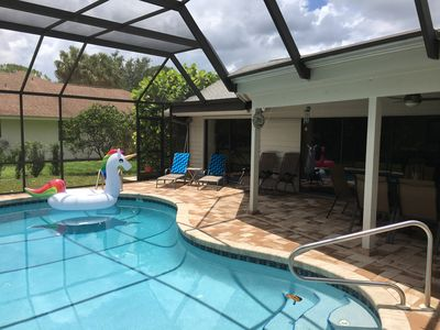 Photo for VILLA BELLY :-) heated pool in Kings Lake, 6-8 People .free WIFI , garage,BBQ