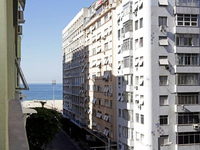 Photo for Apartment in Copacabana with Small View of the Sea
