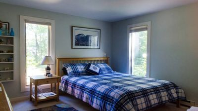 Photo for Quiet Wooded Privacy/ Walk to town