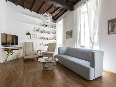 Photo for Via Angelo Brunetti II - luxury 2 bedrooms serviced apartment - Travel Keys