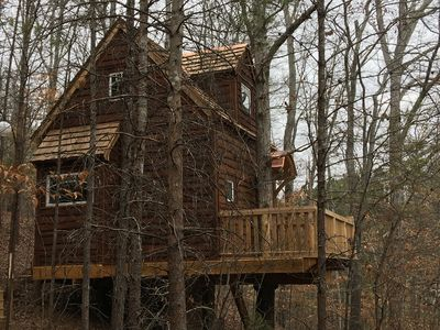 Photo for Le Petit Chateau Treehouse at Candlelight Forest Resort