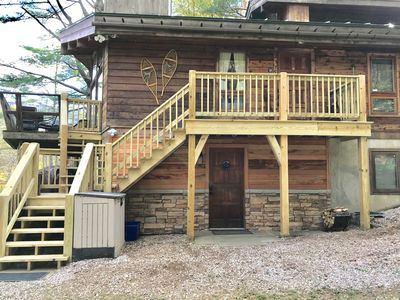 Photo for Lower unit of Chalet minutes from Killington and Okemo