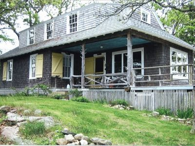 Photo for Large Old Cottage on Bluff at Beach