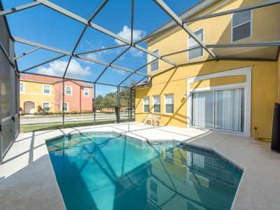 Photo for Home near Disney w/ WiFi, Pool, Resort Sport Courts, Playground, Gym & Gameroom
