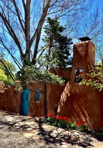 Photo for Cozy Casa Carmelita features a Brilliant Kiva Fireplace, Unique Patio & Hot Tub!