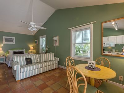 Photo for Cozy, dog-friendly suite w/ shared hot tubs, patio space, grill, and kitchenette