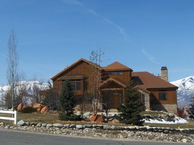 Photo for Beautiful spacious home with horse pasture&stunning views of Wasatch moutains.