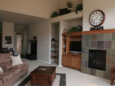 Photo for Luxury Eagle Crest Condo- Private Hot Tub, Fireplace, Free WiFi!