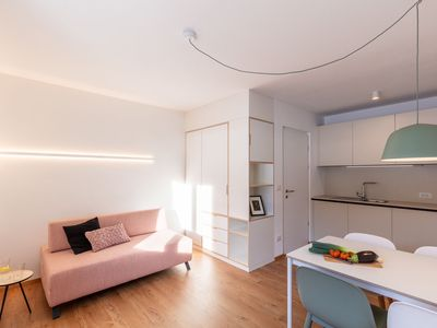 """Photo for Modern """"Hus Apartment - Nr. 3"""" with Balcony, Garden & Wi-Fi; Parking Available"""