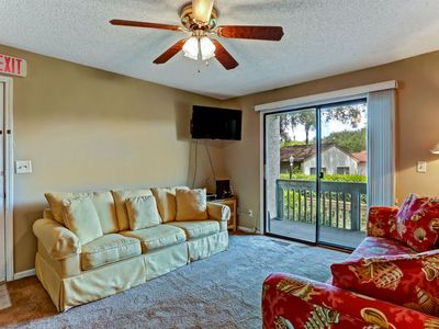 Photo for Cozy condo just blocks from beach.  Lots to do for the family & pet friendly!