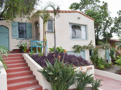 2bd Spanish Bungalow w/ Charm - Near All! Avail for short, med. or long rentals