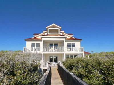 Photo for Gulf-front with private pool, elevator, boardwalk, and phenomenal views.