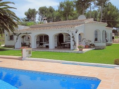 Photo for VILLA OLIVER, JAVEA - 4 Bedrooms, Private Pool, WiFi, A/C, BBQ