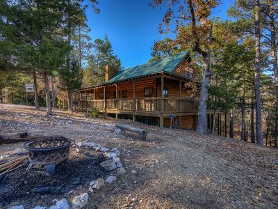 Photo for Escape To Serenity And Become One With Nature At The Peaceful Big Pine Cabin!!!