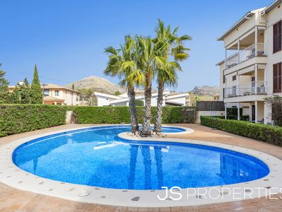 Photo for Ap. Mimosas with pool and 90m from the beach