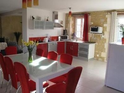 Photo for Bayeux, large Gite 160 m² 4 pers with enclosed garden, parking, near the beaches