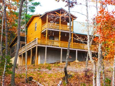 This Amazing Mountain Cabin on 2 Acres has Everything you Need & NO SHEETROCK!