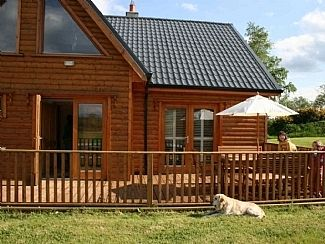 Photo for Large Modern Log Cabin