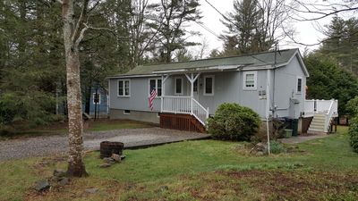 Photo for Pet-Friendly!  Single Family House-One Level! Walk to Long Sands Beach!