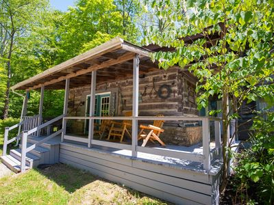 Photo for An 1860'S original log cabin close to downtown Nashville!