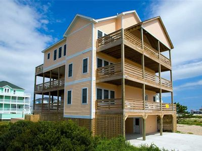 Photo for Relax w/ Ocean & Sound Views! Elevator, Pool, Hot Tub, Game Room, Dog-Friendly