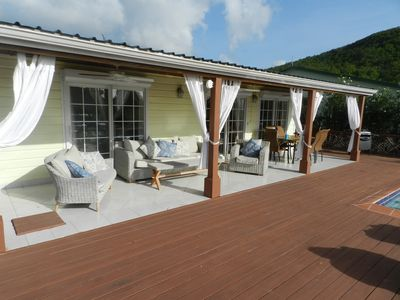 Photo for 4 Bedroom Villa, Private Pool, Sundeck, A/C, BBQ, Wi-Fi