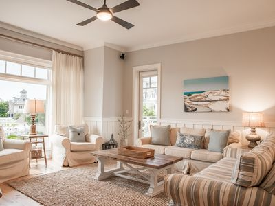 Photo for This Stunning Unit Is ON THE GULF and loaded with Amenities! Golf Cart!