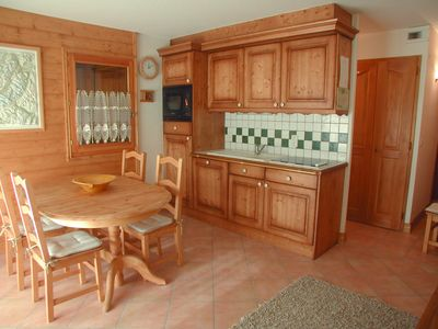 Photo for Clos 2B - 2 bedroom property, fantastic views of Mont Blanc