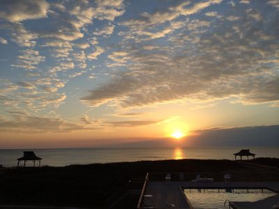 Photo for Oceanfront Condo - See Dolphins at Dawn from your deck!