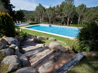 Photo for SOL PINS II - ESCUDE -apartment with shared swimming pool-Tamariu-Costa Brava