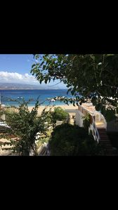 Photo for Enchanting villa on the sea, direct access to the beach, very panoramic