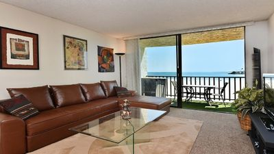 Photo for Ocean view, beach front condo-walking distance to some of the best of Long Beach