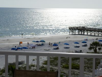 Photo for PERFECT GETAWAY! 2 BR TOP FLOOR BEACH FRONT WITH BREATHTAKING VIEW... FREE WIFI
