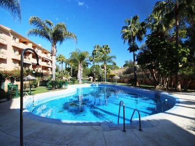 Photo for A stone's throw from one of the best beaches in Marbella