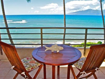 Photo for Direct Oceanfront! Steps to the Water, BBQ's, Beautiful Pool, On-site Tennis!