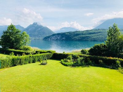 Photo for ST JORIOZ, EXCEPTIONAL Setting House, direct access to the lake, 11 pers