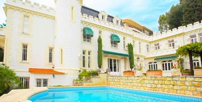 Photo for Villa Noailles- 5 bd private villa with landscaped gardens near Palais des Festivals in Cannes