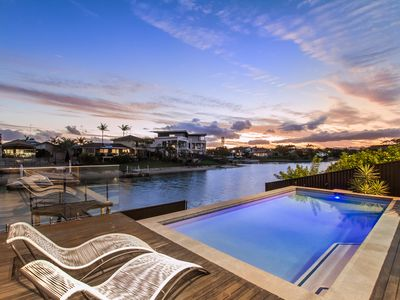 Photo for VOGUE HOLIDAY HOMES - COOBOWIE BAY @ BROADBEACH  (HEATED POOL)