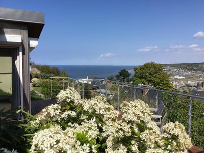Photo for Villa with magnificent sea views and the cliffs of Mers les Bains!